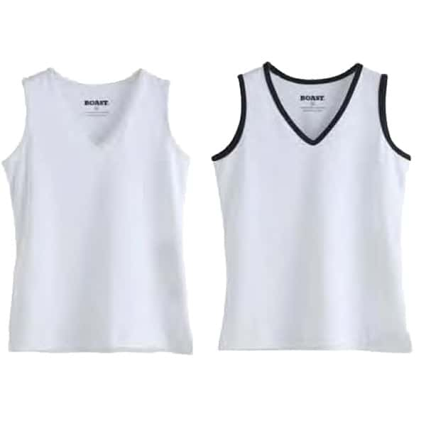Girls Boast Sporty Tank w/ Logo The Tennis Loft Nantucket