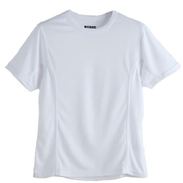 Boys Boast Tek Tee shirt w/ Logo The Tennis Loft Nantucket
