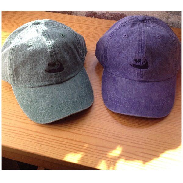 Cotton Caps with leather adjustable strap (Unisex) w/ Logo The Tennis Loft Nantucket