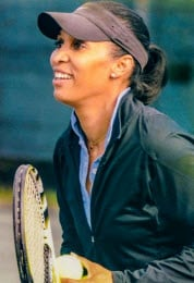 Tina Hoskins-Burney Tennis Instructor Nantucket