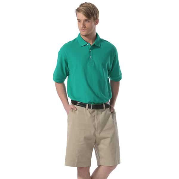 Men's Boast Pima Pique Tennis Shirt w/ Logo (Solid Color) The Tennis Loft Nantucket