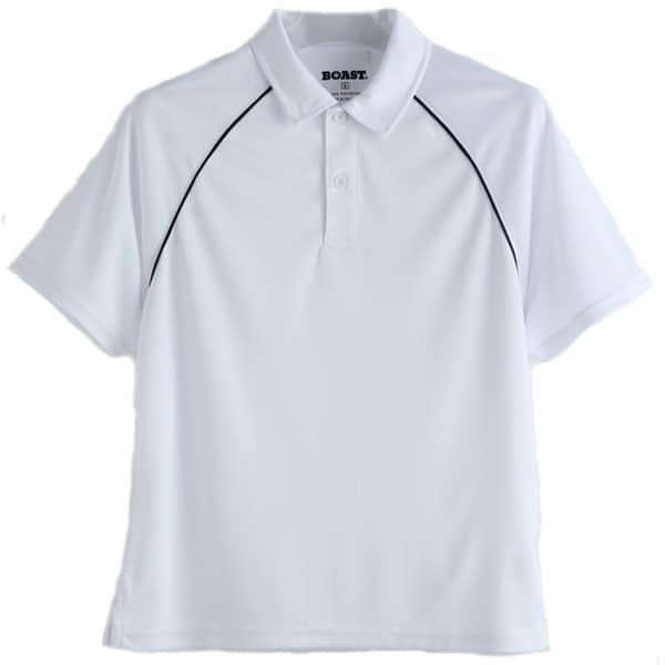 Boys Boast Tek Polo shirt w/ Logo The Tennis Loft Nantucket
