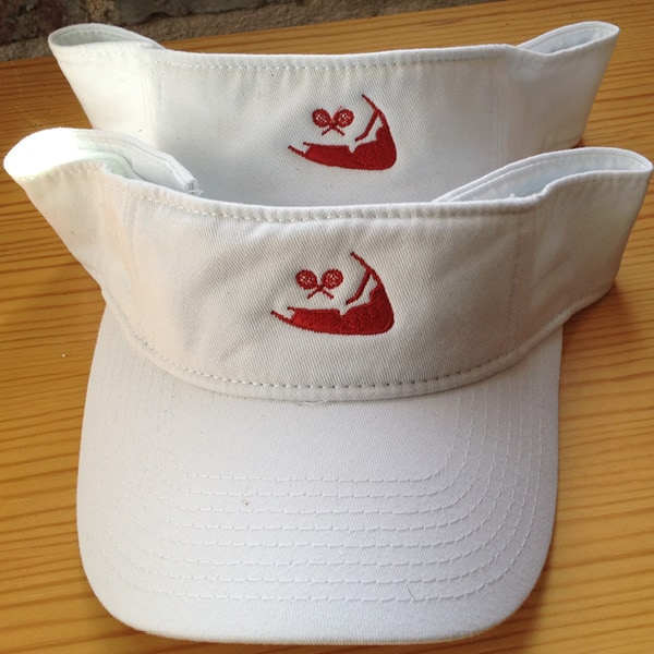 Visor (Unisex) w/ Logo The Tennis Loft Nantucket