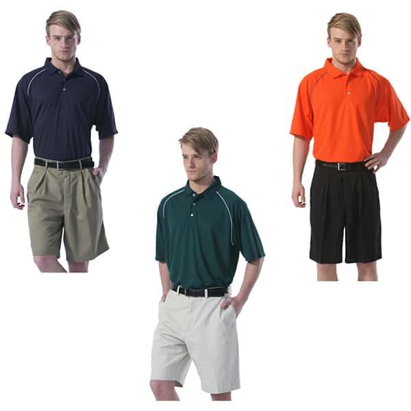 Men's Boast Tek Polo w/ Logo Color Options Tennis Appearal Nantucket